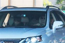 Halle Berry And Olivier Martinez Share Car While Taking