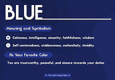 Blue Color Meaning And Symbolism The Astrology Web