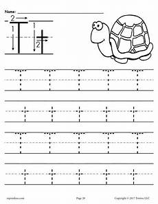 letter tracing worksheets editable 23876 free printable letter t tracing worksheet supplyme