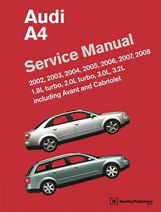 how to download repair manuals 2006 audi a4 seat position control front cover audi audi repair manual a4 2002 2008 bentley publishers repair manuals and
