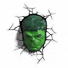 com 3dlightfx marvel avengers hulk face 3d deco light toys games