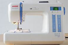 machine a coudre debutant test machine janome stretch 8077 couture d 233 butant