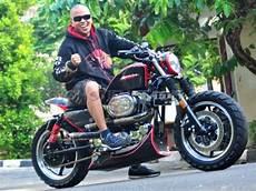 Kaisar Ruby Modif Sportster by Foto Modifikasi Harley Davidson Sportster 1200xl 2002 Kekar