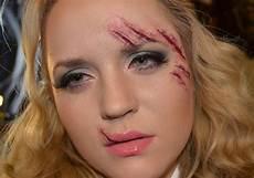Narben Im Gesicht - daily make up narben schminken und modellieren