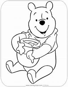 winnie the pooh coloring pages disney s world of wonders