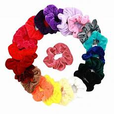 20 pcs velvet hair scrunchies gifts for teenage girls