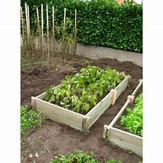 Le Potager De Jardin Rectangulaire En Bois Non Trait 233