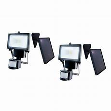 nature power black outdoor solar motion sensing security light with advance led technology 2