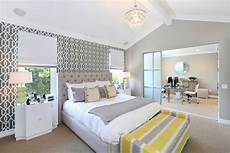 Yellow And Grey Wallpaper Bedroom Ideas by Decorating Grey And Yellow Bedroom To What Is