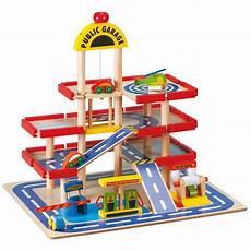 garage voiture jouet club garage en bois enfant 50x40x46 5cm achat vente univers