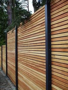 Terrasse Zaun Holz - sichtschutzzaun holz metall g 252 nstig l 228 rche h 246 he grau wei 223