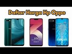 Daftar Harga Hp Oppo 2019