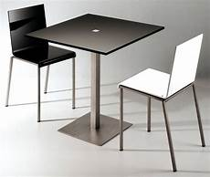 Table Slam 60 X 60 Cm Blanc Brillant 60x60 Cm Zeus