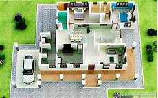 kerala model house plans small plan 3d home contemporary design 3d kerala home plans home pictures