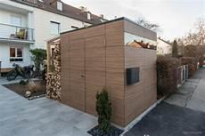gartenhaus mit holzlager design gartenhaus walnut by design garten augsburg 2 fl 252 gelt 252 ren und holzlager mit
