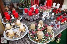 decorazioni natalizie con candele a un passo da te centro tavola a natale
