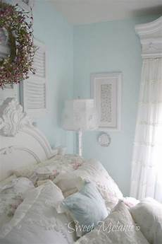 The Wall Color Shabby Chic Bedrooms In 2019