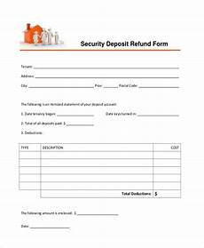 free 8 sle security deposit receipt forms in pdf doc