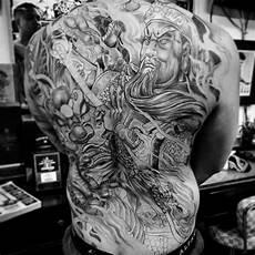 Ideen Rücken - 50 awesome back tattoos for masculine design ideas