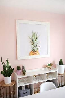 go to paint colors for pretty blushing walls pink