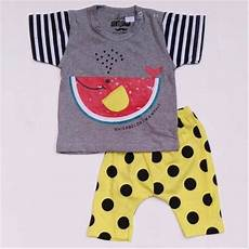 jual baju setelan anak bayi laki cowok paus semangka celana polkadot 1115 di lapak raphael