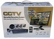 cctv with recording complete cctv systems 4 channel surveillance kit cctv