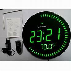 dhl diy beautiful large led digital wall clock modern