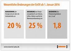 enev 2016 versch 228 rfte anforderungen an die