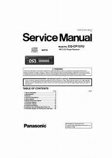 panasonic cq cp137u service manual download schematics eeprom repair info for electronics experts