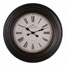albani wall clock by oak furniture land