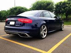 audi a4 b8 8k s line 2011 2015 rear skirt addition of