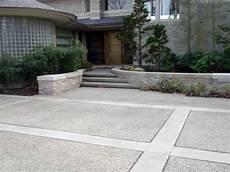 einfahrt gestalten ideen top 50 best concrete driveway ideas front yard exterior