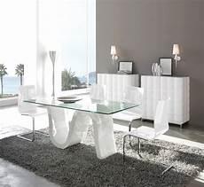 table design verre table de salle 224 manger rectangulaire design corona