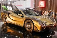 auto bild teure karren in gold bilder autobild de