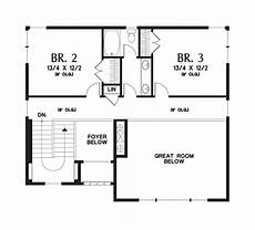 uphill slope house plans house plan 22197 the renicker
