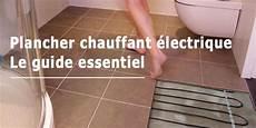 poser un plancher chauffant électrique prix d un plancher chauffant 233 lectrique