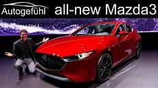 mazda sedan 2020 all new mazda3 review exterior interior comparison hatch
