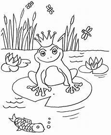 malvorlage frosch mit krone tiffanylovesbooks