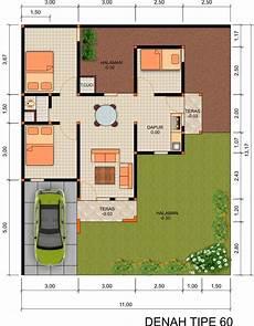 14 Denah Rumah Minimalis 3 Kamar Tidur Rumahku Unik