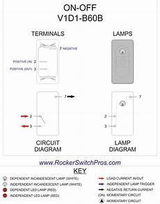 Carling V Series Rocker Switch Wiring Diagram Wiring