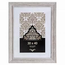 Bilderrahmen Holz Weiß - accent bilderrahmen vintage wei 223 30 x 40 cm holz