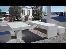 table de jardin b 233 ton lisse banc b 233 ton pr 233 fabriqu 233