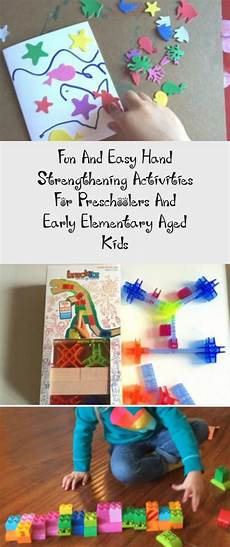 11 hands on activity ideas for early childhood special fun and easy hand strengthening activities for
