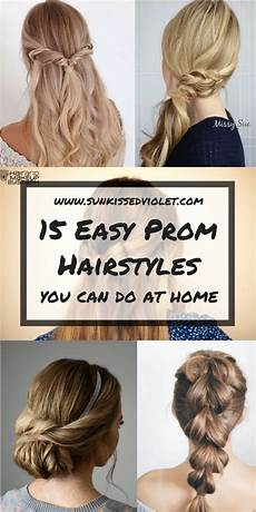 15 easy prom hairstyles for long hair you can diy at home detailed step by step tutorial sun