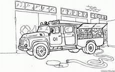 rescue vehicles coloring pages 16411 填色画 消防車斯堪尼亞
