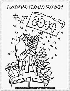 Neujahr Malvorlagen New Year Printable Coloring Pages Free Printable