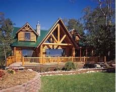 Unique Log House Design Built Home Green Living
