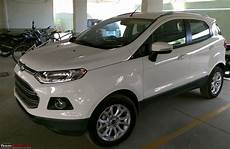 a white ford ecosport automatic joins the family