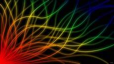 Rainbow Neon Wallpaper