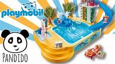 Playmobil Ausmalbilder Schwimmbad Playmobil Schwimmbad Ausgepackt Und Angespielt Pandido